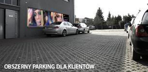 Parking studio reklamowe victoria miejsce dla klienta