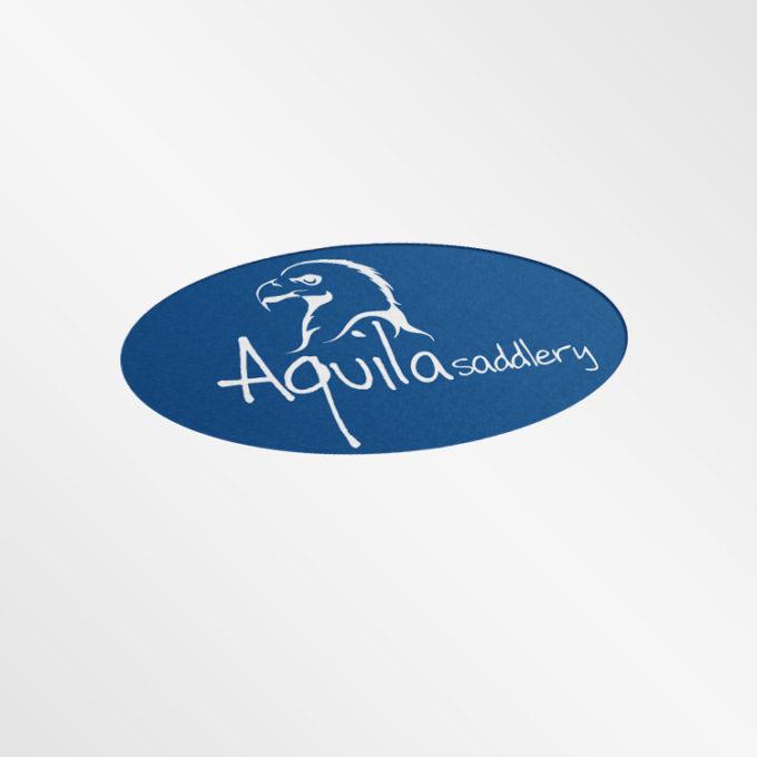 Logo projekty graficzne poznań granatowe