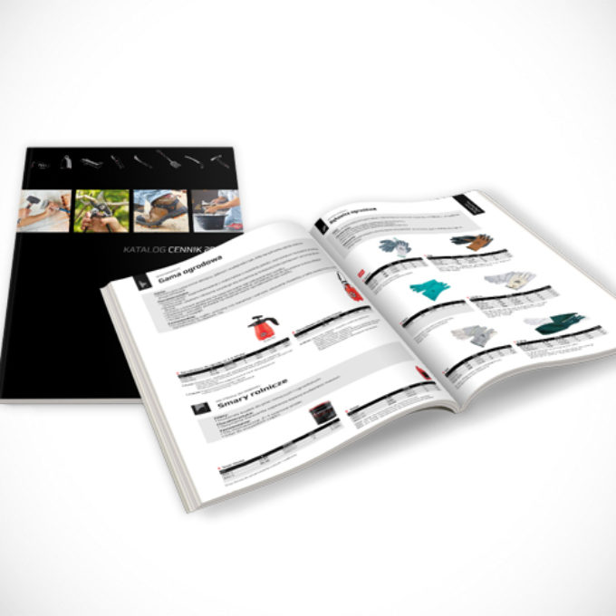 Katalogi reklamowe poznań narzędzia i akcesoria ogrodnicze