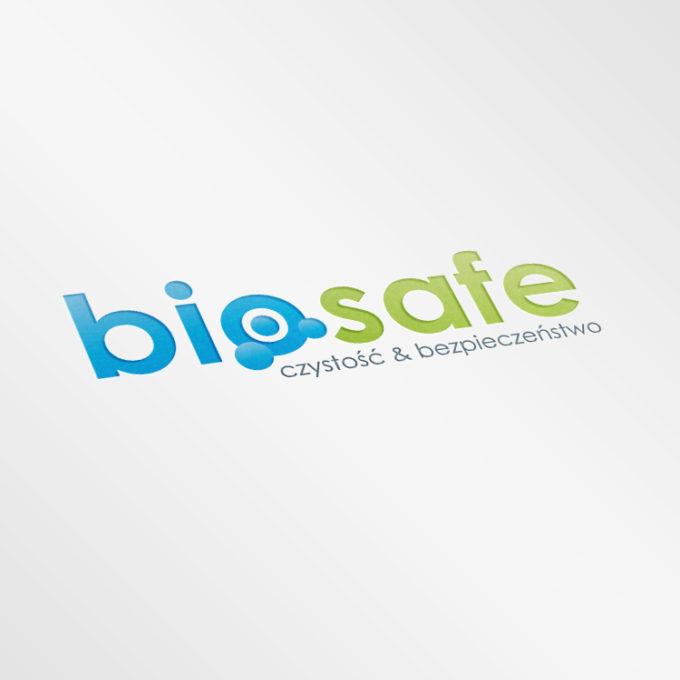 Logo projekty graficzne poznań zielono niebieskie