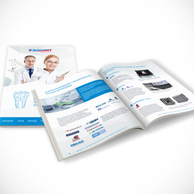 Katalogi reklamowe poznań usługi stomatologiczne