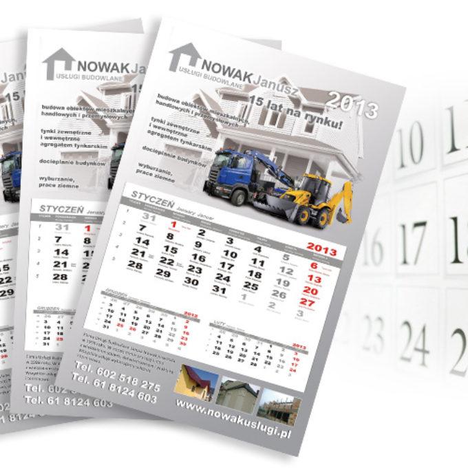 Kalendarze poznań firma budowlana