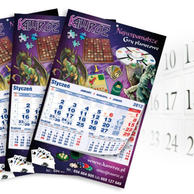Kalendarze poznań gry planszowe
