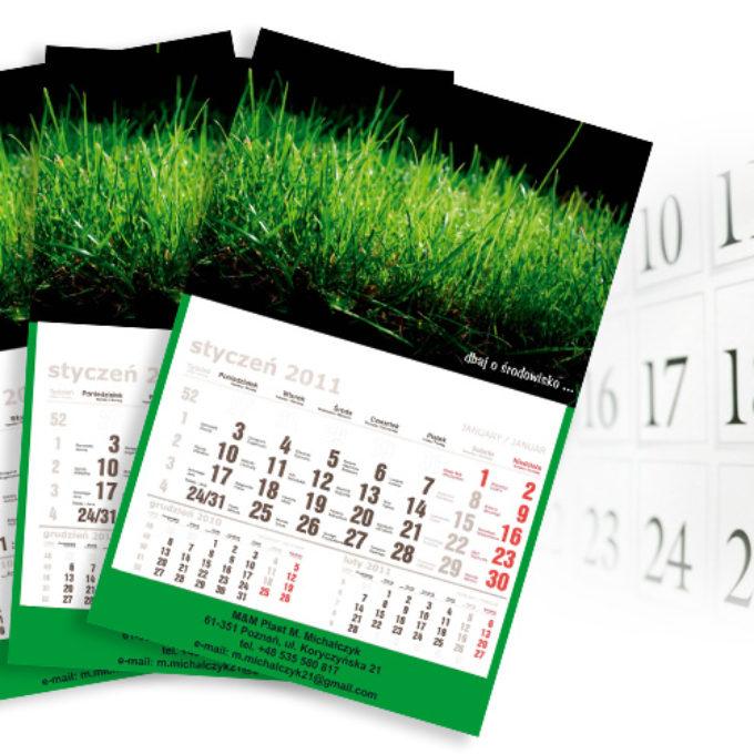 Kalendarze poznań dbaj o środowisko