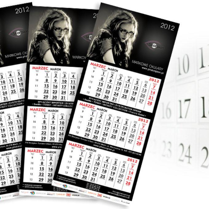 Kalendarze poznań optyk okulary
