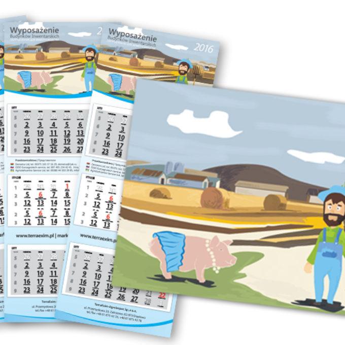 Kalendarze poznań wyposażenie produktów inwentarskich