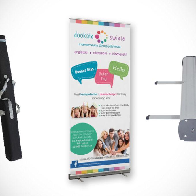 Rollup reklamowy poznań szkoła językowa