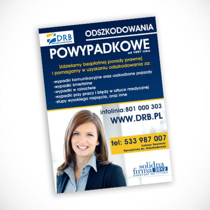 plakaty reklamowe poznań odszkodowania powypadkowe