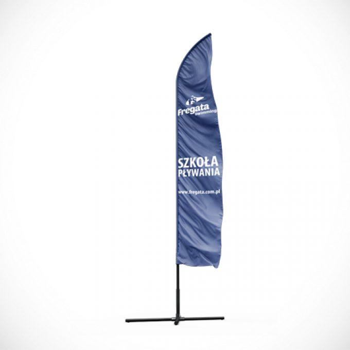 Flagi reklamowe projekty graficzne poznań beachflag