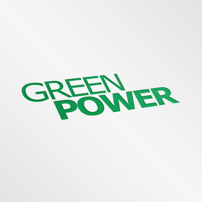 Logo projekty graficzne poznań zielone