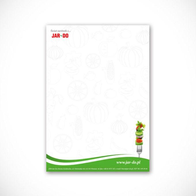 Papier firmowy poznań surówki warzywa i owoce