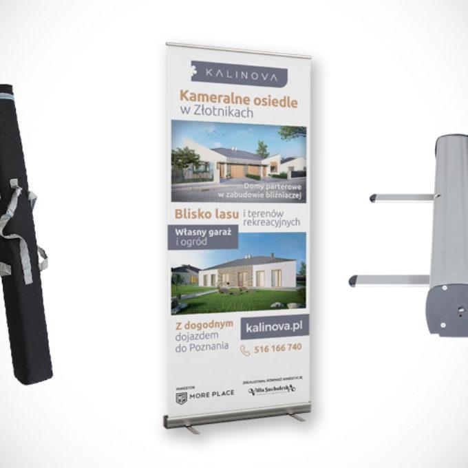 Rollup reklamowy poznań deweloper budowa domów