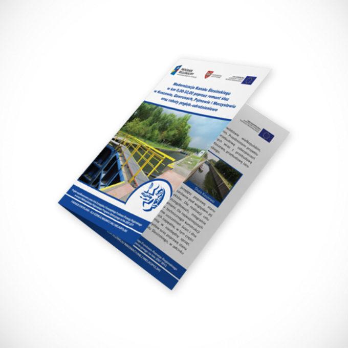 katalogi reklamowe poznań modernizacja kanału śląskiego
