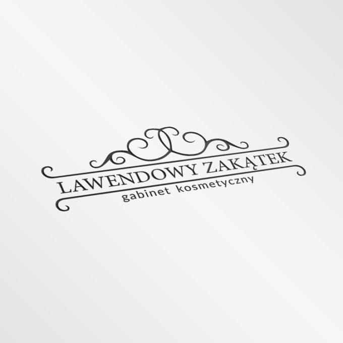 Logo projekty graficzne poznań czarne eleganckie