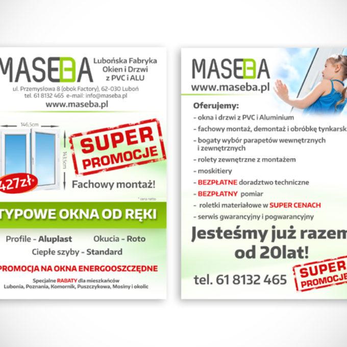 ulotki reklamowe poznań oferta producenta okien i drzwi