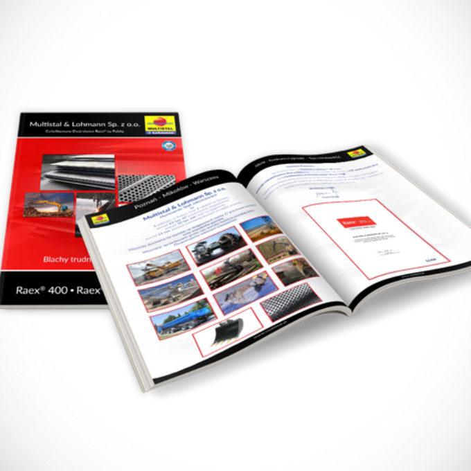 Katalogi reklamowe poznań oferta pręty blachy płyty metalowe
