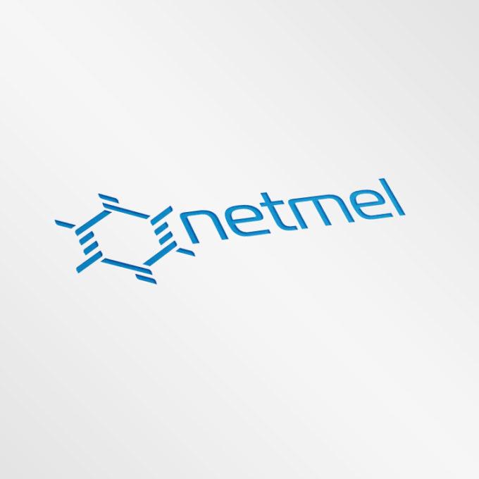 Logo projekty graficzne poznań niebieskie