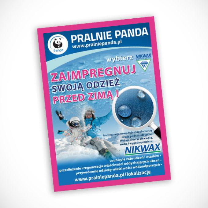 plakaty reklamowe poznań pralnie chemiczne