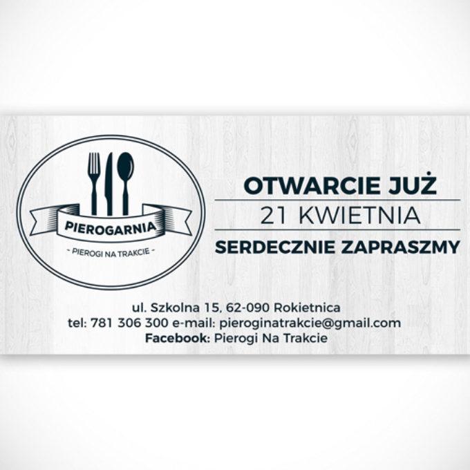 Banery reklamowe poznań restauracja menu