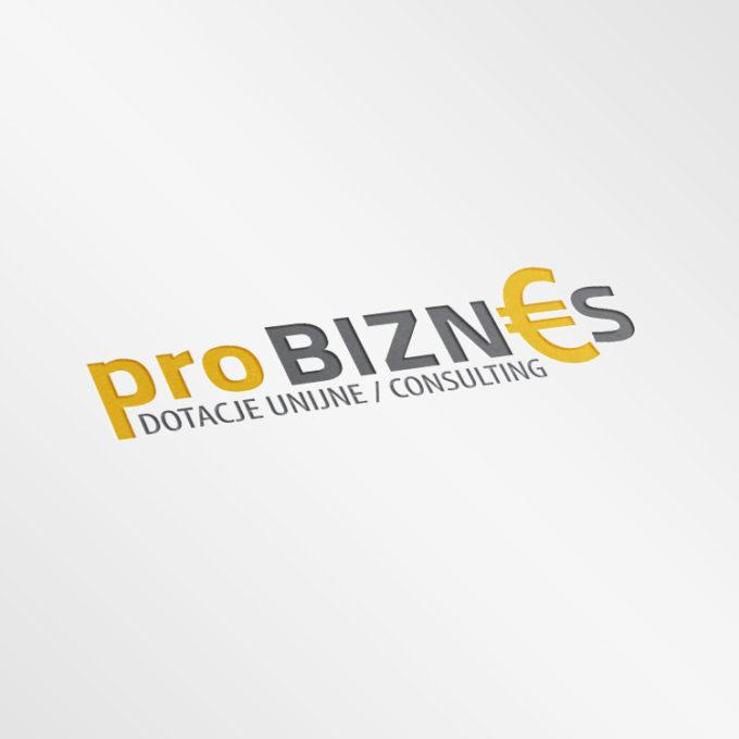 Logo projekty graficzne poznań biznes żółte