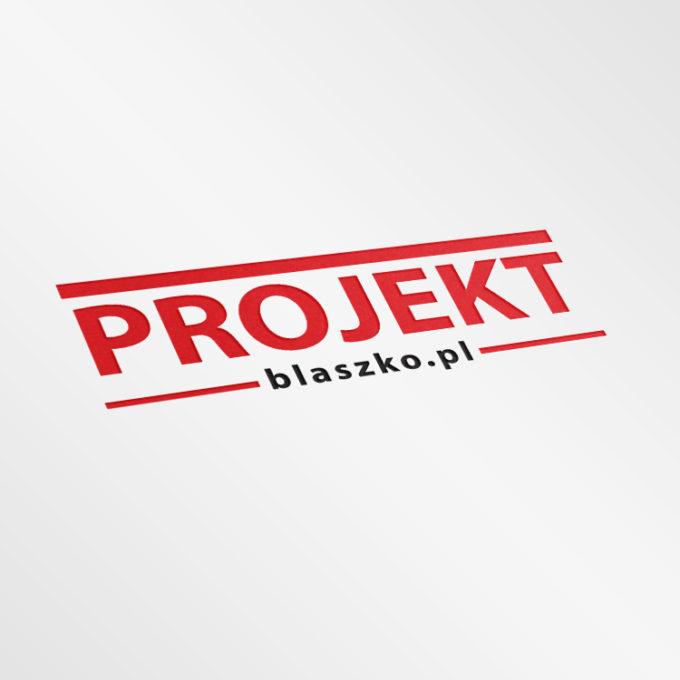 Logo projekty graficzne poznań czerwone