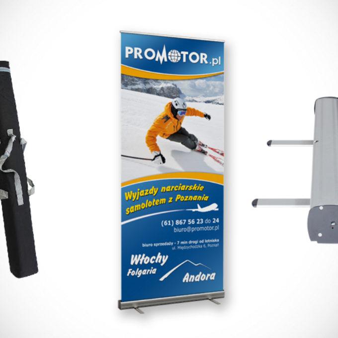 Rollup reklamowy poznań wyjazdy narciarskie