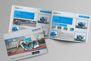 katalogi i foldery reklamowe, projektowanie, druk
