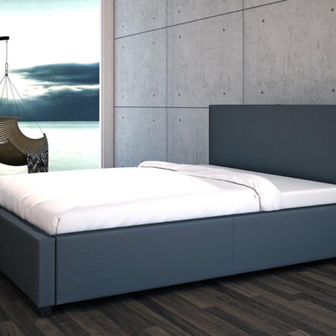 Wizualizacje 3D Poznań projekty graficzne poznań sypialnia łóżko