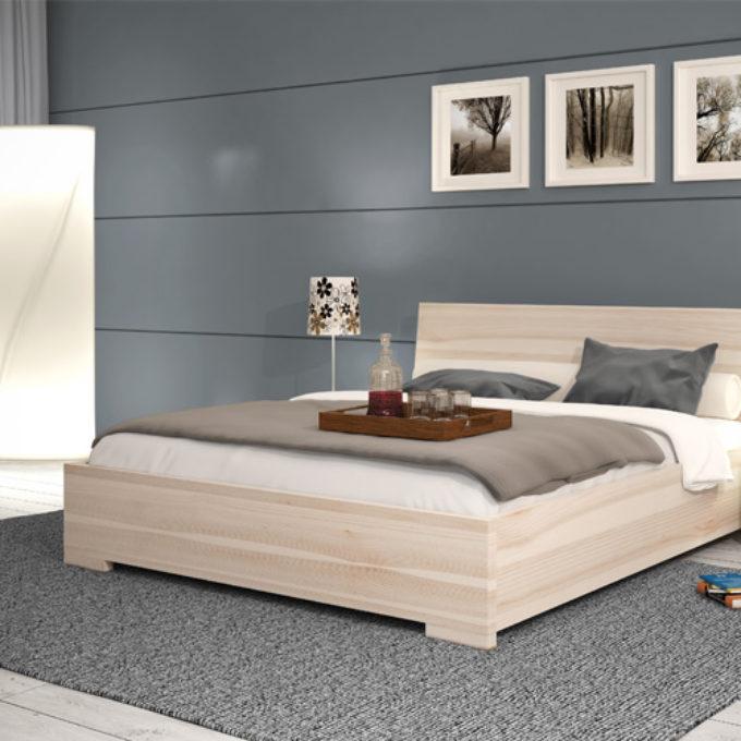 Wizualizacje 3D Poznań projekty graficzne poznań klon sypialnia łóżko