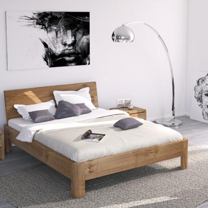 Wizualizacje 3D Poznań projekty graficzne poznań sypialnia łóżko nowoczesna biała