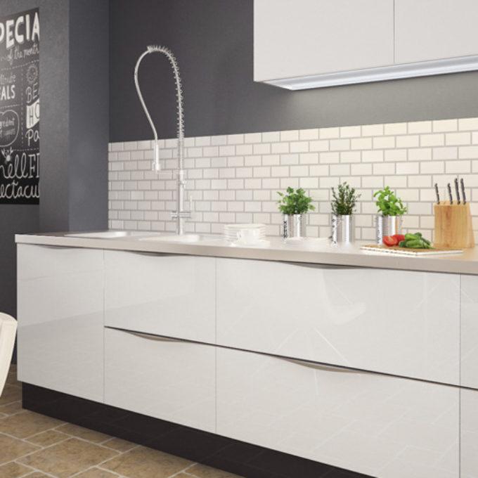Wizualizacje 3D Poznań projekty graficzne poznań jasna kuchnia