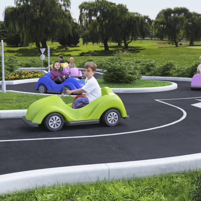 Wizualizacje 3D Poznań projekty graficzne poznań plac zabaw dla dzieci