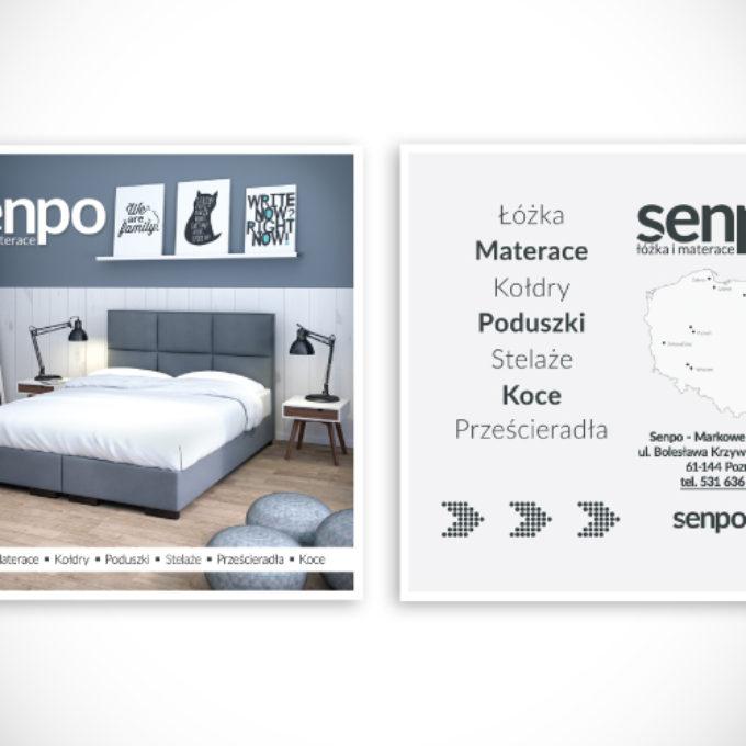 ulotki reklamowe poznań oferta senpo materace łóżka