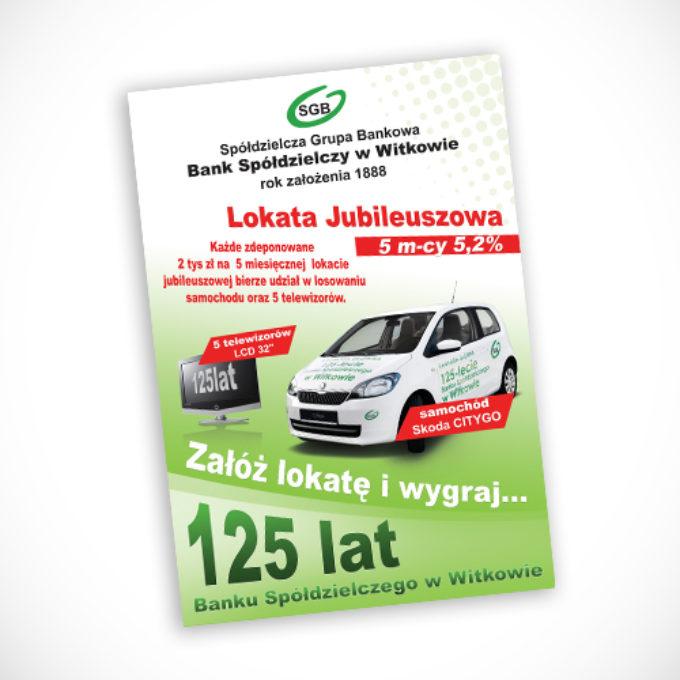 plakaty reklamowe poznań Bank spółdzielczy