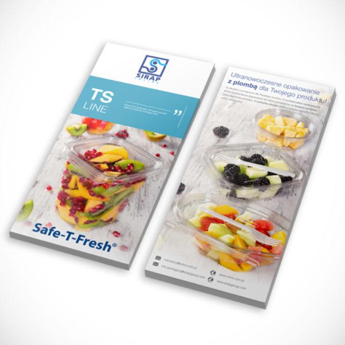 ulotki reklamowe Poznań poznań cennik catering dietetyczny folder reklamowy