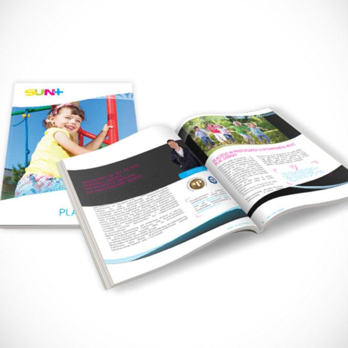 Katalogi reklamowe poznań firma place zabaw