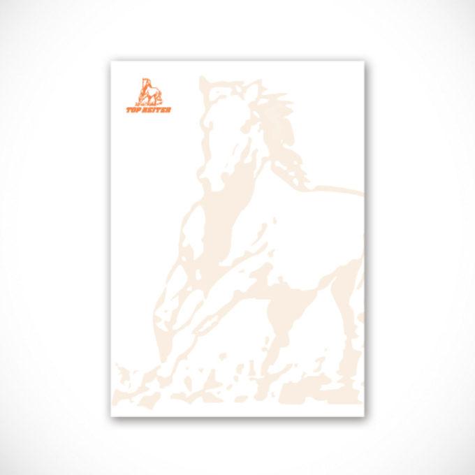 Papier firmowy poznań odzież do jazdy konnej