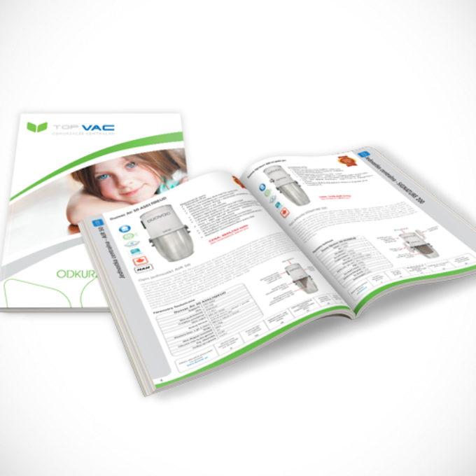 Katalogi reklamowe poznań oferta odkurzacze centralne
